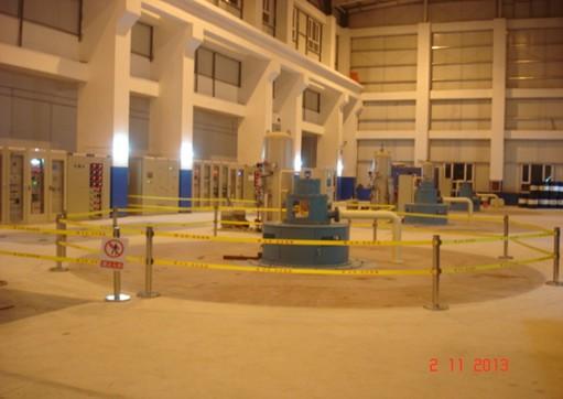 克水电站发电机层